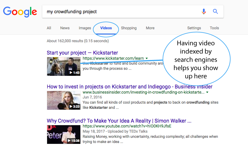 my-crowdfunding-project-google-screenshot