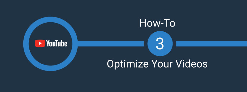 Optimize YouTube videos graphic