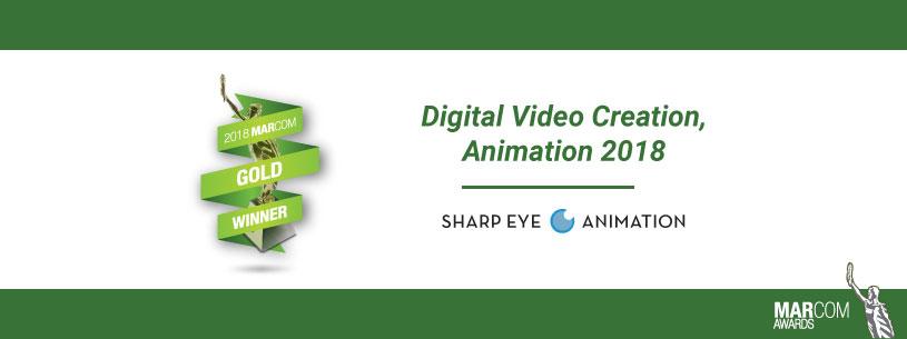 2018 MarCom Award graphic