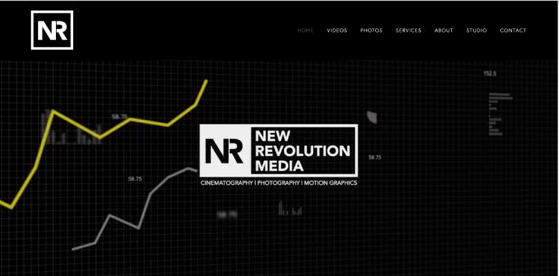 New revolution media website