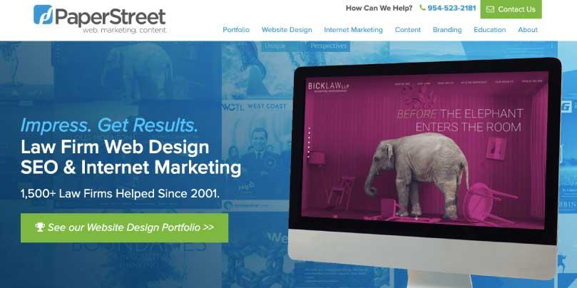 Paperstreet website