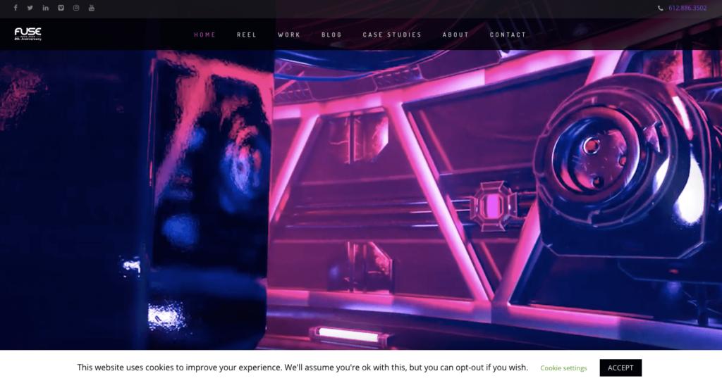 Fuse Animation website