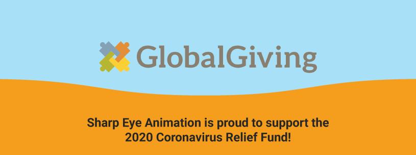 Sharp Eye Animation proudly supports the Coronavirus Relief Fund