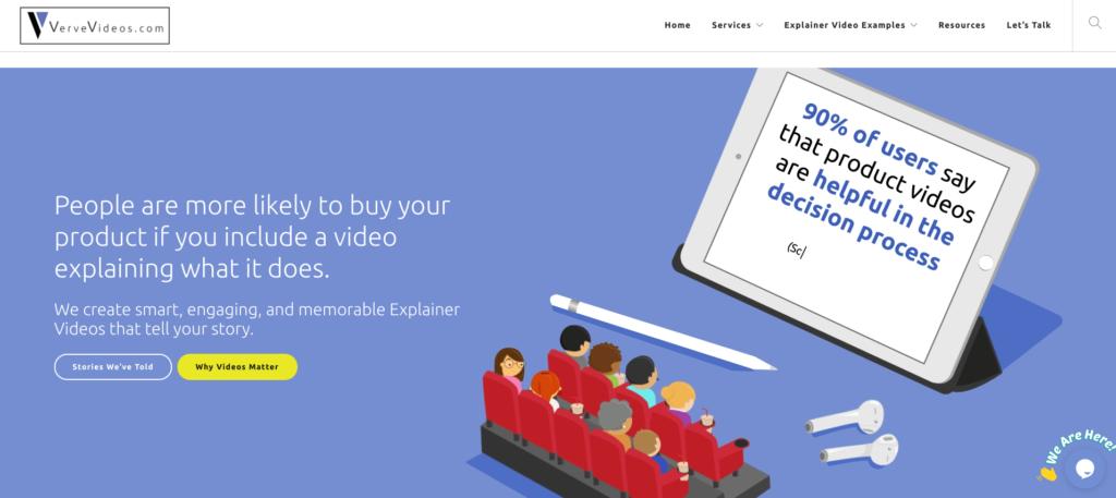 Verve Videos Best animated training video companies