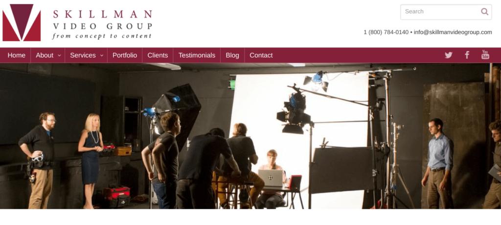 Skillman video group website
