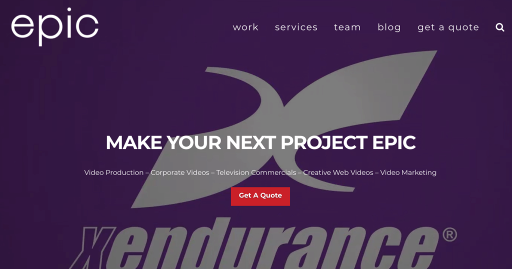 epic productions website