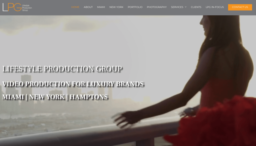 lifestyle production group website